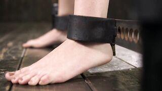 Feet: Pretty Restrained Feet