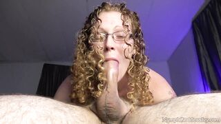 Cum Swallowing: Pulsating ejaculation in throat